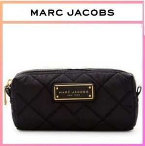 Marc Jacobs Quilted Nylon Cosmetic Case